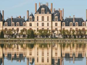 Vue extérieure du château de Fontainebleau