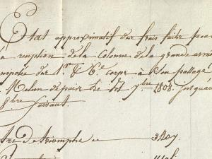 historical archival document