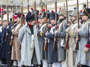 Napoléon devant ses soldats